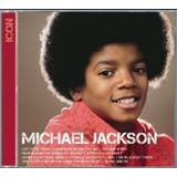 Cd Michael Jackson   Série Icon