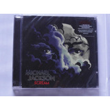 Cd Michael Jackson Scream Novo Original Lacrado