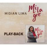 Cd Midian Lima Play Back   Milagre  2017 Novo