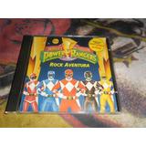 Cd Mighty Morphin Power Rangers Rock Aventura