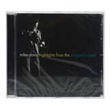 Cd Miles Davis   Highlights From The Plugged Nickel   Import