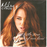 Cd Miley Cyrus   The Time Of Our Lives