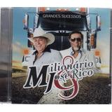 Cd Milionário E José Rico   Grandes Sucessos Original