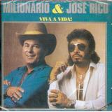 Cd Milionário E José Rico   Vol 18 Viva A Vida   Original Lc