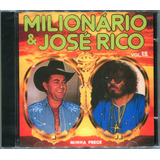 Cd Milionário E José Rico 1985   Vol 15    cd Lacrado