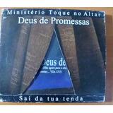 Cd Ministério  Toque No Altar Deus De Promessas