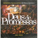 Cd Ministério Apascentar  Deus De Promessas