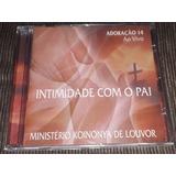 Cd Ministério Koinonya De Louvor Adoração 14 Aovivo Lacrado
