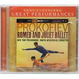 Cd Mitropoulos   Prokofiev Romeo And Juliet Ballet Importad