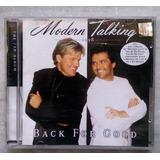 Cd Modern Talking ¿ Back For Good