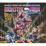 Cd Monster High   Boo York  Boo York Um Musical De Arrepiar
