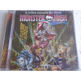 Cd Monster High Boo York Musical De Arrepiar Tso Lacrado