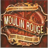 Cd Moulin Rouge   Music From Baz Luhrmann s Film   Novo