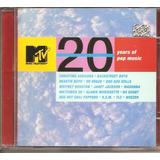 Cd Mtv 20 Years Of Pop Music   Alanis Morissette Madonna Tlc