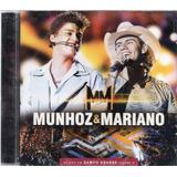 Cd Munhoz E Mariano Ao Vivo Em Campo Grande Vol2 Lacrado