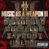 Cd Music As A Weapon Ii   Lacrado =  Disturbed   Taproot