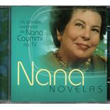 Cd Nana Caymmi   Novelas