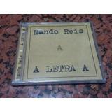 Cd Nando Reis Letra A  Titas Arnaldo Antunes