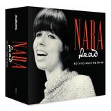 Cd Nara Leão Ao Vivo Anos 60 70 80   Box Set 4 Cds