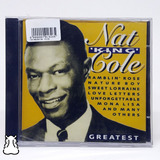 Cd Nat King Cole Greatest 1991 Importado Novo Lacrado