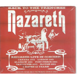 Cd Nazareth   Live Back Trenches 1972 1984   Duplo C slipcas