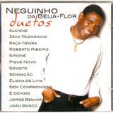 Cd Neguinho Da Beija Flor   Duetos  Roberto Ribeiro Sensaçao