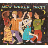 Cd New World Party   Miriam Makeba  digipack    Usado