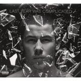 Cd Nick Jonas   Last Year Was Complicated