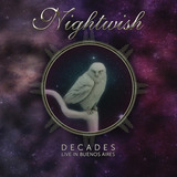 Cd Nightwish   Decades Live In Buenos Aires Cd Duplo  digipa