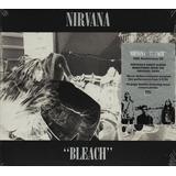 Cd Nirvana Bleach Deluxe Importado Lacrado Digipack Expanded