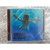 Cd Nirvana Nevermind Lacrado Classico Original