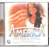 Cd Novela América   Internarcional