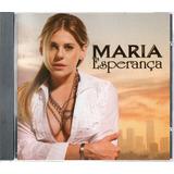 Cd Novela Maria Esperança 2007 Sbt   Série Colecionador