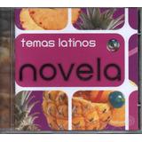 Cd Novela Temas Latinos