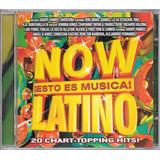 Cd Now Esto Es Musica Latino Thalia Rbd Anahi Dulce Maria
