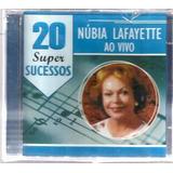 Cd Núbia Lafayette   20 Super Sucessos   Original E Lacr Mpb