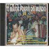 Cd O Maior Forró Do Mundo Quinteto Violado Banda Pau E Corda