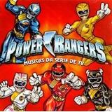 Cd O Melhor De Power Rangers