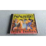 Cd O Som Das Popozudas Festa Techno