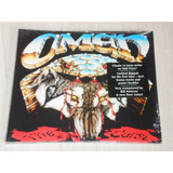 Cd Omen   The Curse   Nightmares Ep  alemão Remaster Digipac