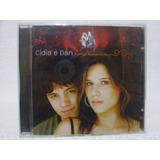 Cd Original Cídia E Dan  Duetos Românticos