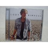 Cd Original Cody Simpson  Coast To Coast  Lacrado De Fábrica