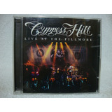 Cd Original Cypress Hill  Live At The Fillmore