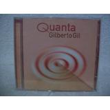 Cd Original Gilberto Gil  Quanta