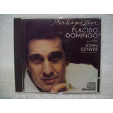 Cd Original Placido Domingo  Perhaps Love  With John Denver