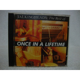 Cd Original Talking Heads  The Best Of  Once In A Lifetime