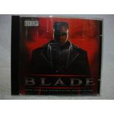 Cd Original Trilha Sonora Blade  O Caçador De Vampiros