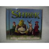 Cd Original Trilha Sonora Do Filme Shrek  Importado