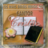 Cd Os Mais Belos Hinos Do Cantor Cristão Orquestra