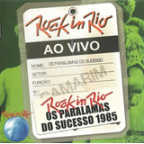 Cd Os Paralamas Do Sucesso 1985 Rock In Rio Ao Vivo Lacrado